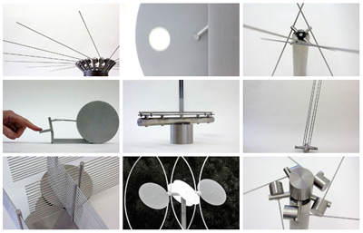 Anne Lilly's kinetic sculptures