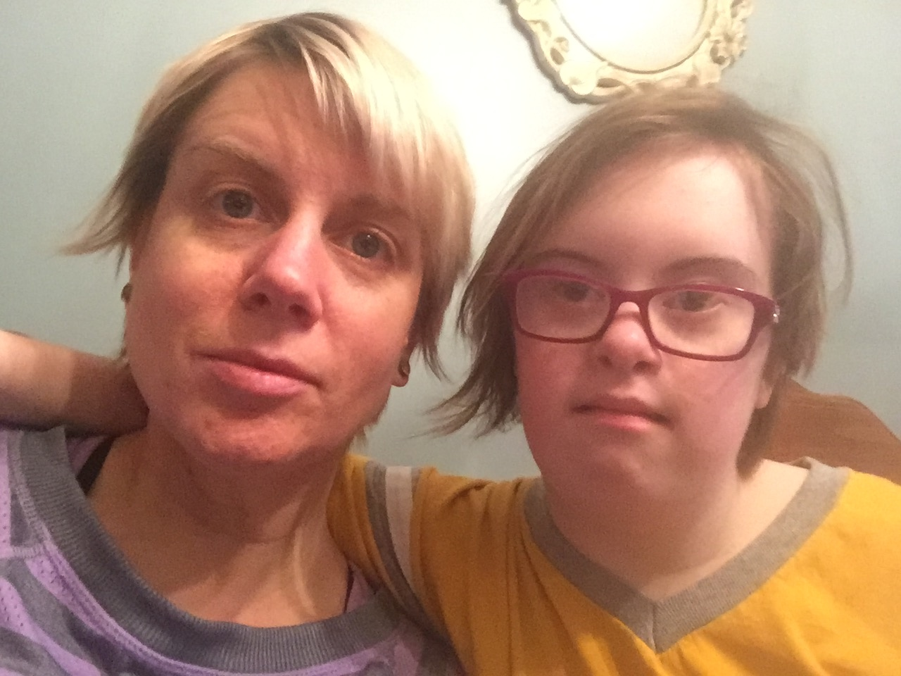 a blog post about a person with down syndrome
